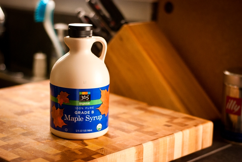We still had plenty of Grade B Maple Syrup left, even though Anne used ...