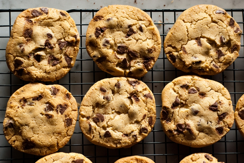 Our New Favorite Chocolate Chip Cookie | TheshoeboxKitchen